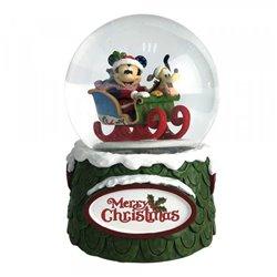 Snowglobe Merry Christmas - Mickey & Pluto - 6009581