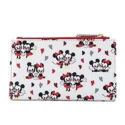 Loungefly Wallet Love AOP - Mickey & Minnie - WDWA1526