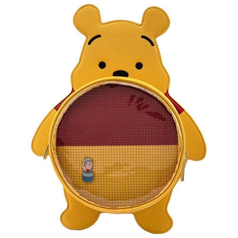 Loungefly Pin Trader Backpack - Pooh - WDBK1452