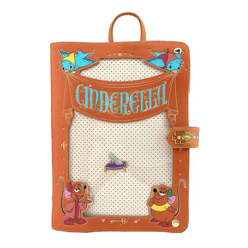 Loungefly Pin Trader Backpack - Cinderella - WDBK1450