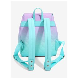 Loungefly Mini Backpack Ombre Scales - Little Mermaid - WDBK1473