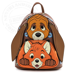 Loungefly Mini Backpack Cosplay - Todd & Copper - WDBK1493