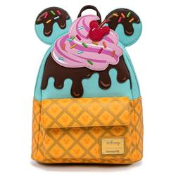 Loungefly Mini Backpack Ice Cream - Mickey -  - WDBK1476 - WDBK1476
