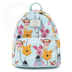 Loungefly Mini Backpack Balloon Friends - Pooh & Friends - WDBK1505