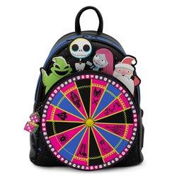 Loungefly Mini Backpack Oogie Boogie Wheel - Nightmare Before Christmas - WDBK1741