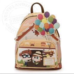 Loungefly Mini Backpack Working Buddies - Carl & Ellie - WDBK1723