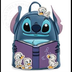Loungefly Mini Backpack Story Time Duckies - Stitch - WDBK1656