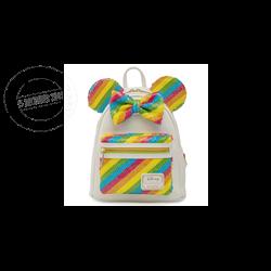 Loungefly Mini Backpack Rainbow - Minnie - WDBK1659