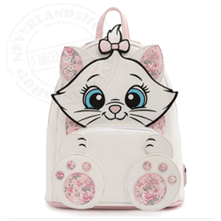 Loungefly Mini Backpack Floral Footsy - Marie - WDBK1638