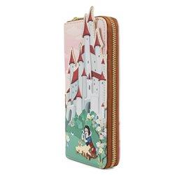 Loungefly Ziparound Wallet  Castle - Snow White - WDWA1763