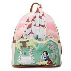 Loungefly Mini Backpack Castle - Snow White - WDBK1813