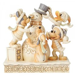 White Woodland Frosty Friendship - Mickey & Co - 6002828