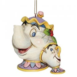 Ornament - Mrs Potts & Chip - A21431