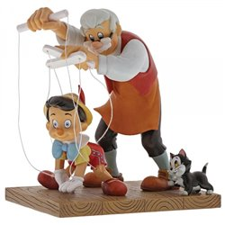 Little Wooden Head - Pinocchio & Geppetto - A29296