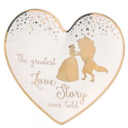 Wedding Ring Dish - Beauty & the Beast - A29336