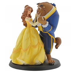 Wedding Cake Topper - Beauty & the Beast - A29337