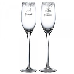 Wedding Toasting Glasses - Cinderella - A29339