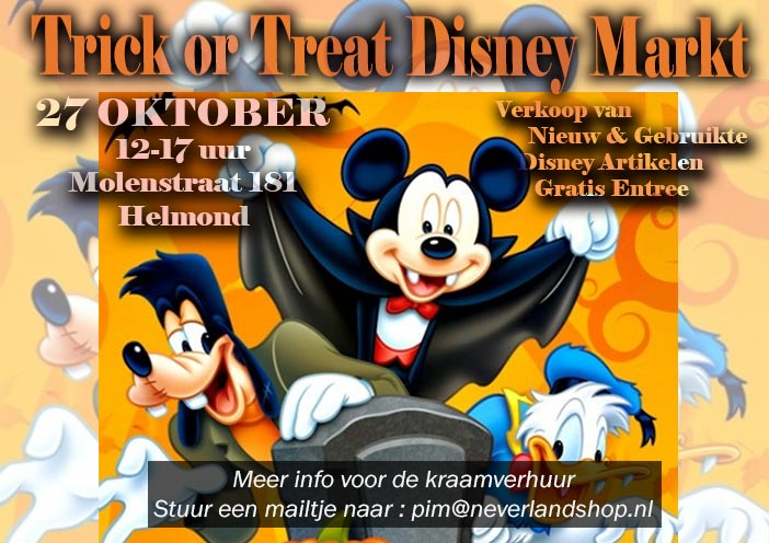 Trick or Treat Disney Markt